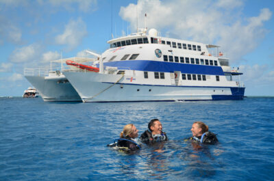 Liveaboard intro dive trip from Cairns