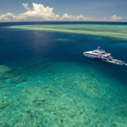 ReefQuest Great Barrier Reef Cert Dive Day Trip Vessel