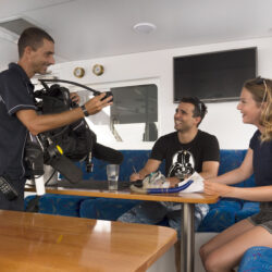 ReefQuest Outer Great Barrier Reef Intro Dive Trip Briefing