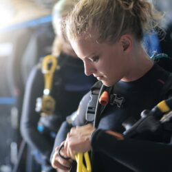 PADI Open Water Course Dive Student