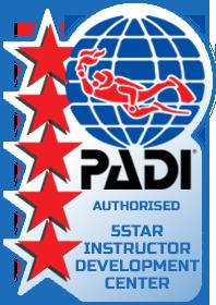 PADI 5-Star IDC Logo