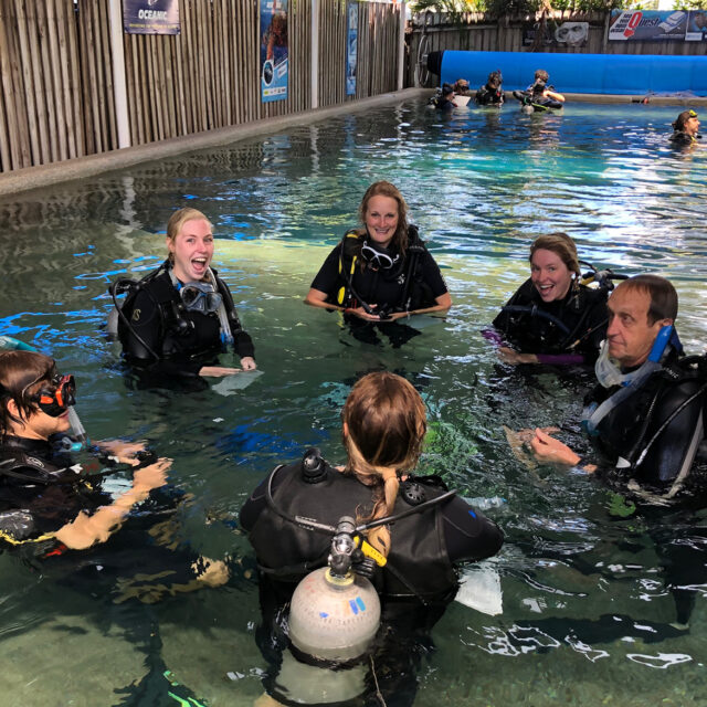 Divers Den Dive Centre heated pool Cairns