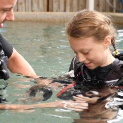Divers Den Scuba Kids pool instructor