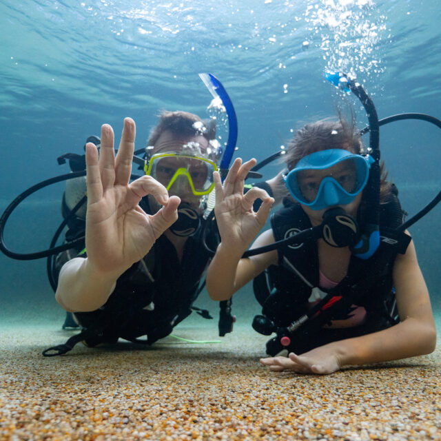 Divers Den Cairns kids' scuba course