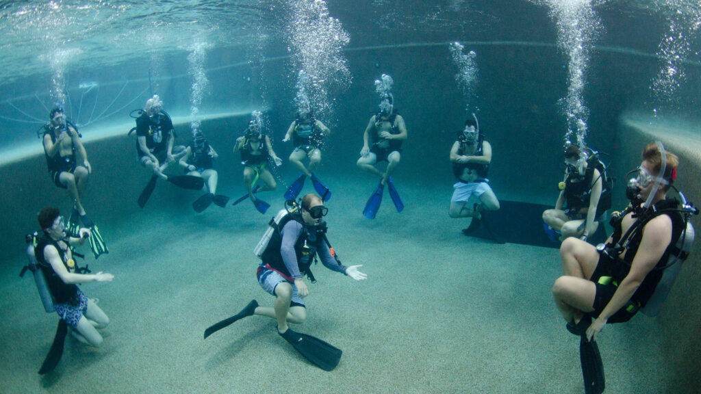 Learning to Scuba Dive Cairns Pool