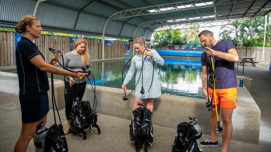 Scuba Diving Lesson Cairns