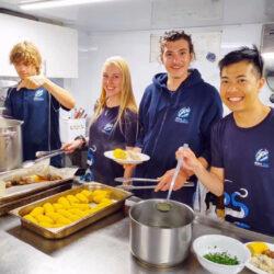 Cairns Divemaster Training Program - food preparation skills